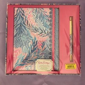NWT Lilly Pulitzer Journal & Pen Set